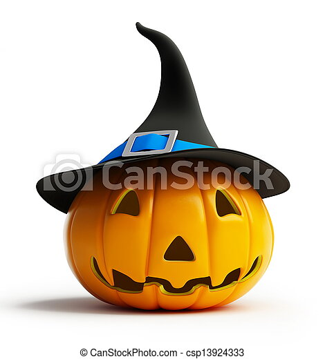 Calabaza de Halloween - csp13924333