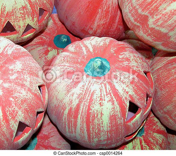 Halloween ceramics - csp0014264