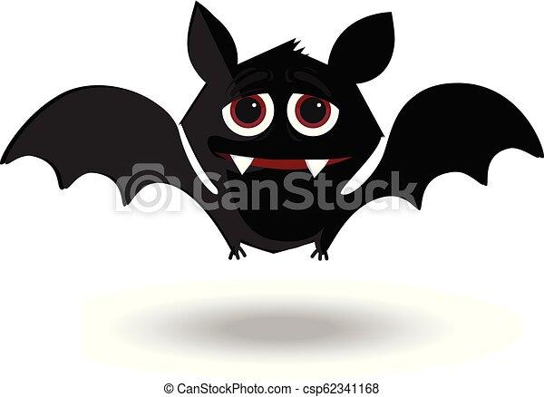 halloween clip art character of kawaii bat flittermouse for kids rh canstockphoto com All Halloween Pictures Clip Art Halloween Spider Clip Art