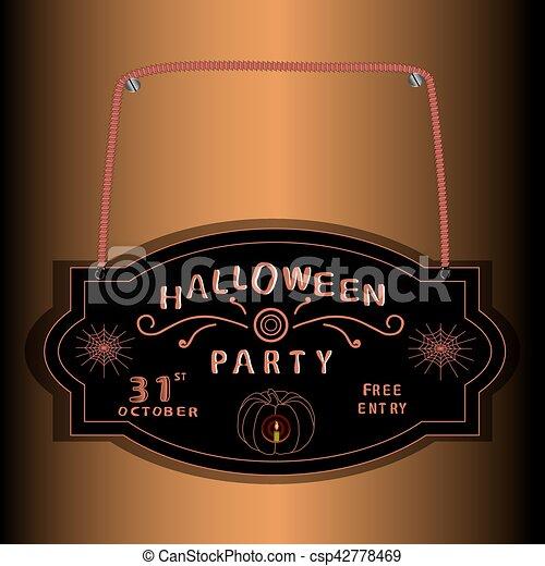halloween - csp42778469