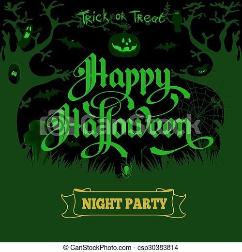 Halloween - csp30383814