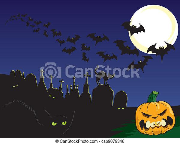 Halloween - csp9079346