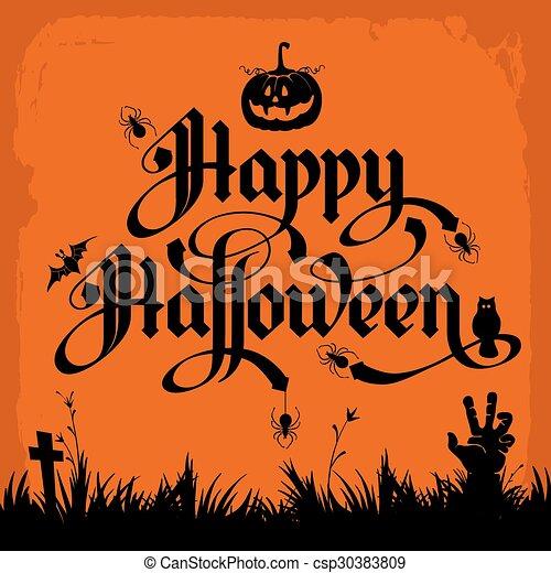 Halloween - csp30383809