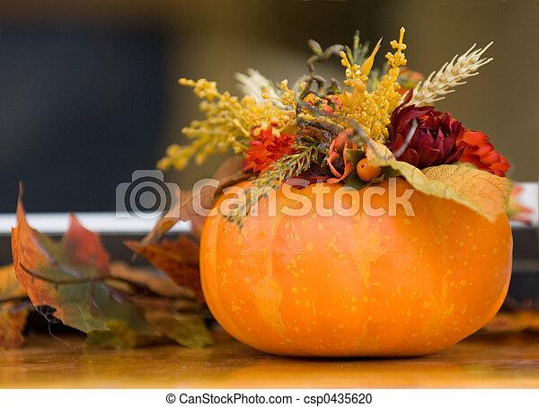 Halloween compositio - csp0435620