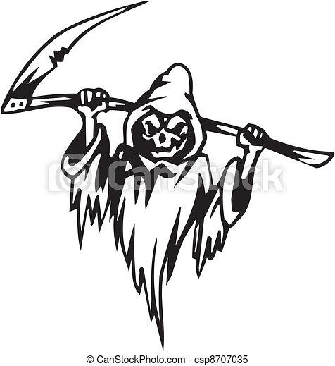 Noche de Brujas: ilustración del vector - csp8707035