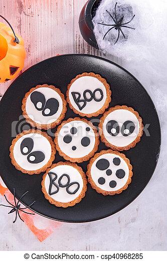 halloween cookie - csp40968285