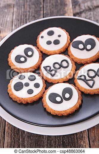 halloween cookie - csp48863064
