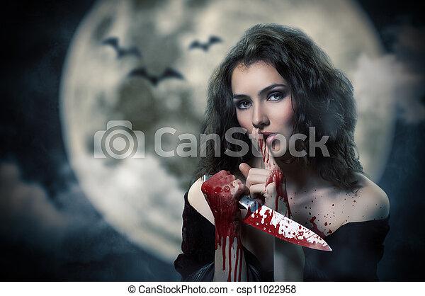 halloween, día - csp11022958