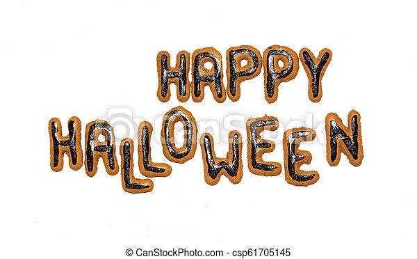 halloween, dag, bakgrund - csp61705145