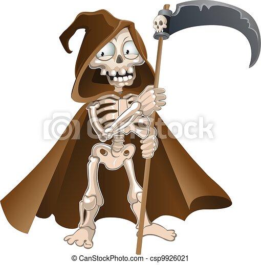 Graciosa muerte de Halloween - csp9926021