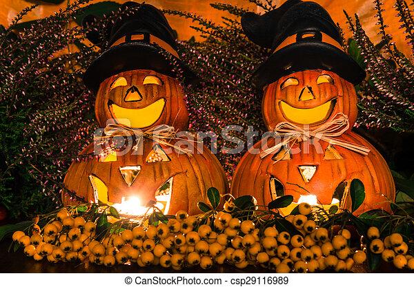 halloween, dynia - csp29116989