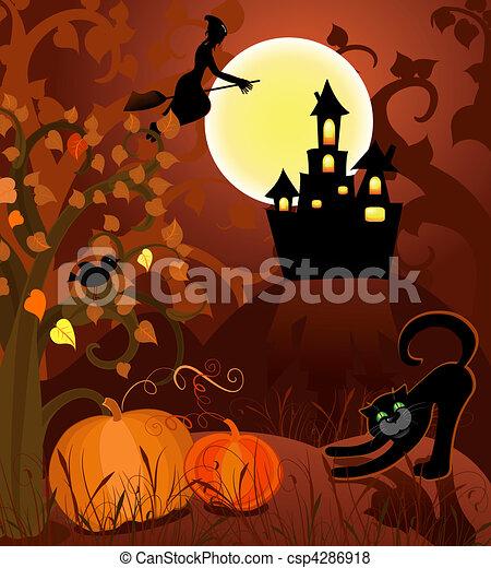 halloween - csp4286918