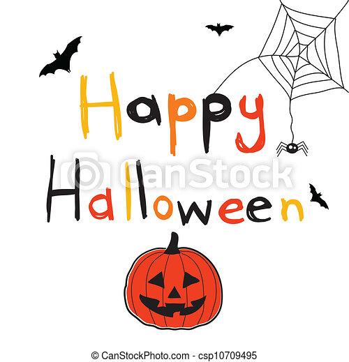 halloween, felice - csp10709495