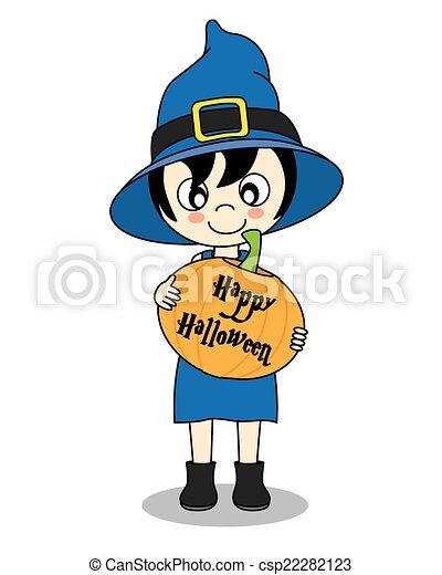 halloween, felice - csp22282123