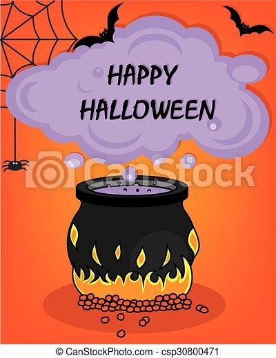 halloween, felice - csp30800471