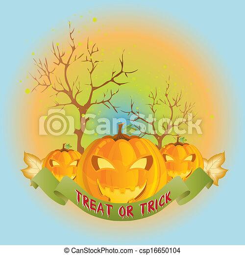 halloween, felice - csp16650104
