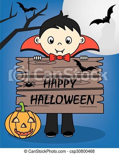halloween, felice - csp30800468
