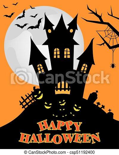 halloween, felice - csp51192400