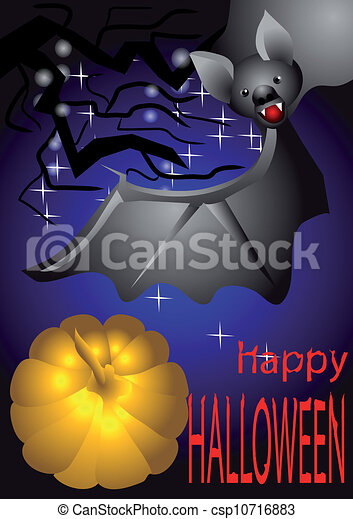 halloween, felice - csp10716883