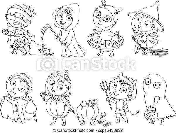 halloween, felice - csp15433932