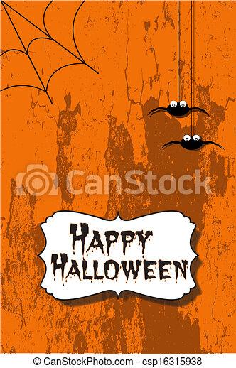 halloween, felice - csp16315938