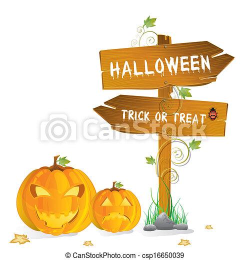 halloween, felice - csp16650039