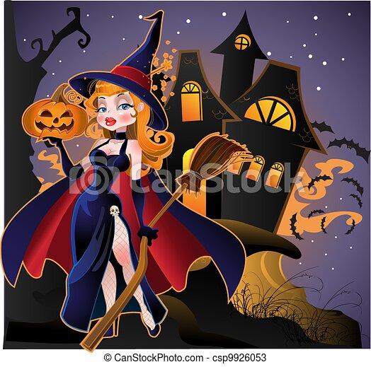 halloween, felice - csp9926053