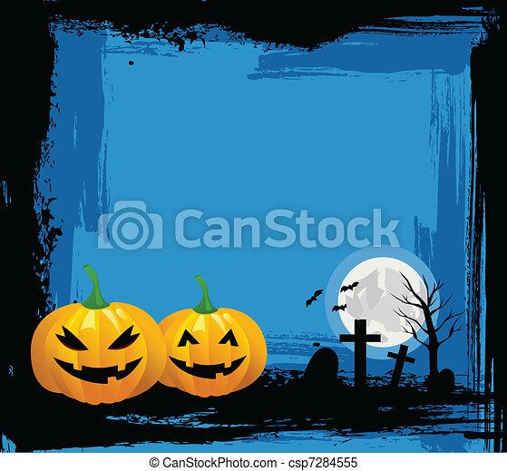 halloween, fond - csp7284555