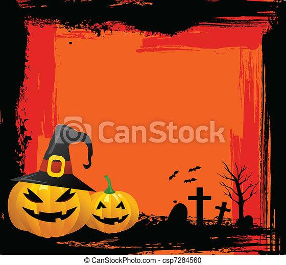 halloween, fond - csp7284560