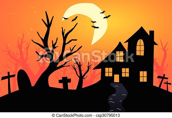 halloween, fond - csp30795013