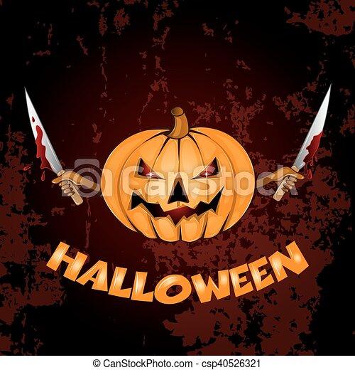 halloween, fond - csp40526321