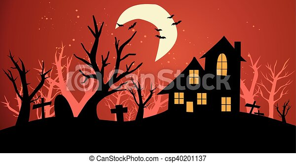 halloween, fond - csp40201137