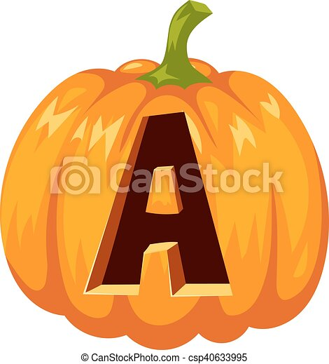 Halloween font alphabet vector. Spooky halloween font ...