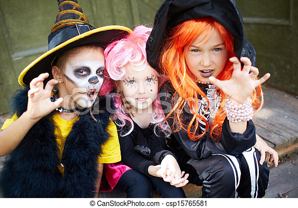 Halloween fright - csp15765581