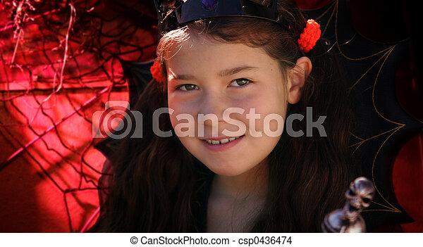 Halloween girl - csp0436474