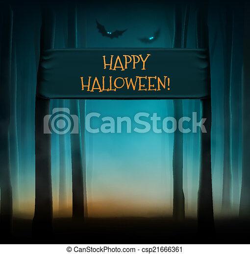 Happy Halloween - csp21666361