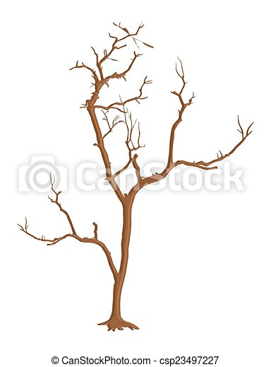 halloween horrible dead tree abstract spooky halloween dead rh canstockphoto com dead tree vector free dead tree silhouette vector