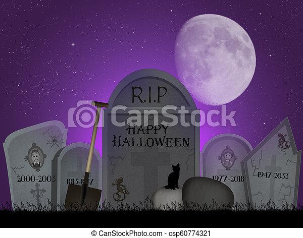 Halloween horror night - csp60774321