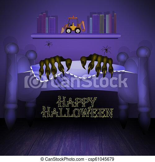 Halloween horror night - csp61045679