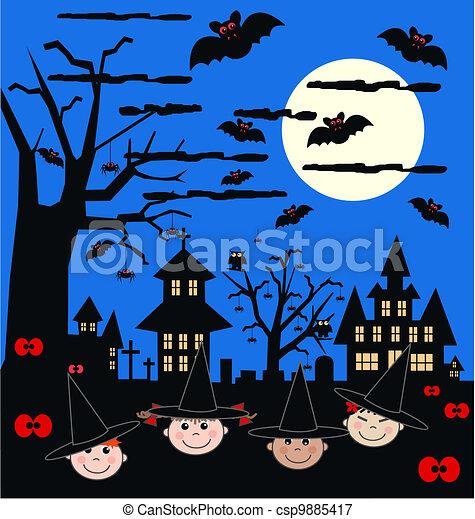 halloween - csp9885417