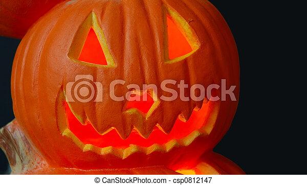 Halloween Jack O Lantern - csp0812147