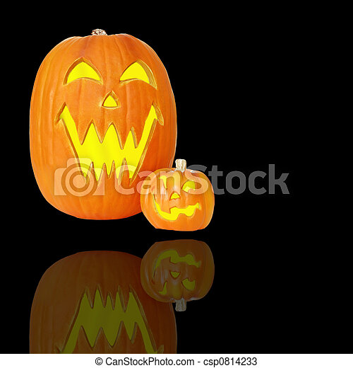 Halloween Jack O Lanterns - csp0814233