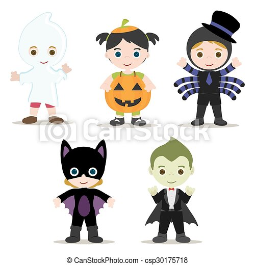 Truco O Trato - Halloween Kids Clipart - Free Transparent PNG Clipart Images  Download