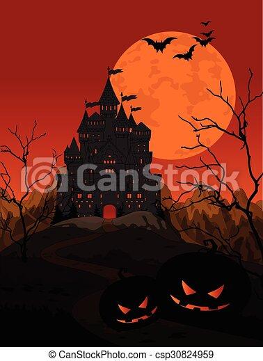 Halloween Kingdom - csp30824959