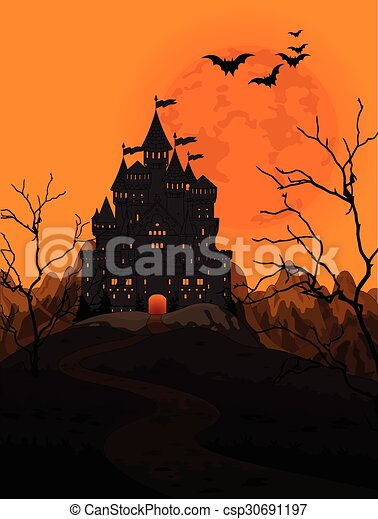 Halloween Kingdom - csp30691197