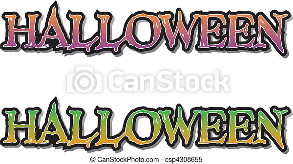 halloween lettering halloween vector grunge lettering