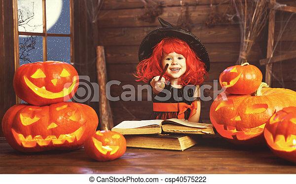 Halloween Magique Livre Sorciere Cric Enfant