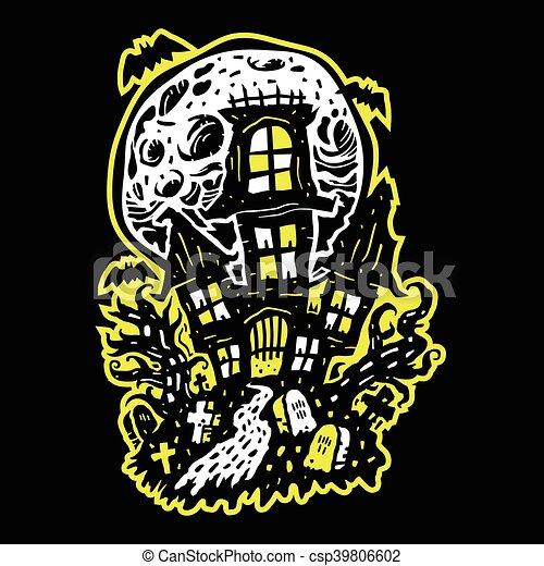 Halloween Maison Hantée