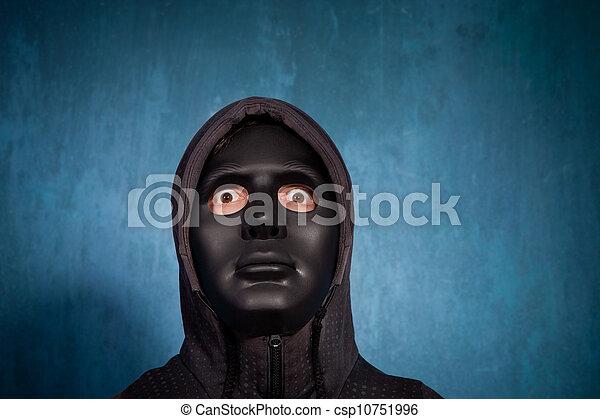 guy in black mask sex video