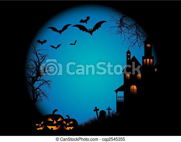 Halloween night - csp2545355